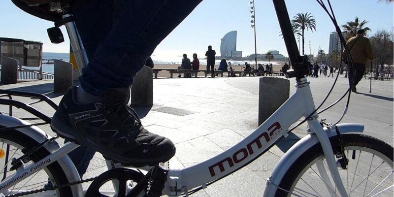 bicicletta elettrica Moma bikes